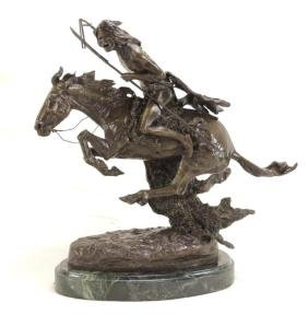 """Cheyenne Lost"" by Frederic Remington Limited Edition"