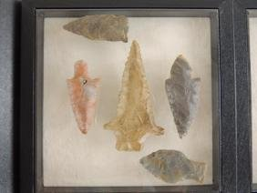 Group of 5 Native American Indian Reproduction