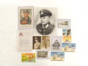 Group of WW2 German Photographs and Ephemera