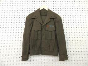 U.S. Marine Corp Jacket and Pants with Pins and Bars