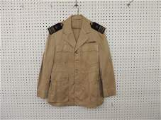 U.S. Military Jacket with Shoulder Patches and Bars