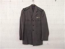 U.S. Military Jacket with Bars and Shoulder Patches