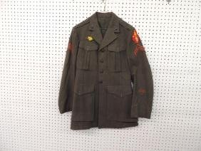 U.S. Marine Corp Jacket with Patches and Pins