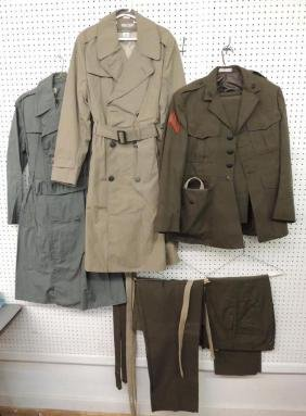 Group of U.S. Military Uniforms