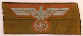 WW2 German DAK Breast Eagle Patch