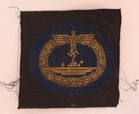 WW2 German U-Boat War Badge