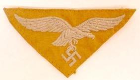 WW2 German Luftwaffe EM Tropical Breast Eagle Patch