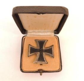 WW2 German 1st Class Iron Cross with Case