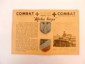 WW2 German Afrika Korps Badges