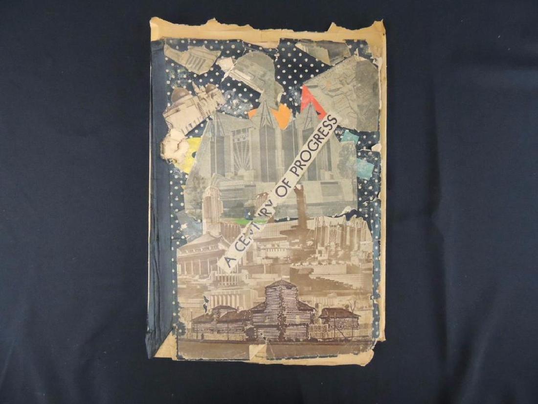1893 World's Columbian Exposition Chicago Scrapbook
