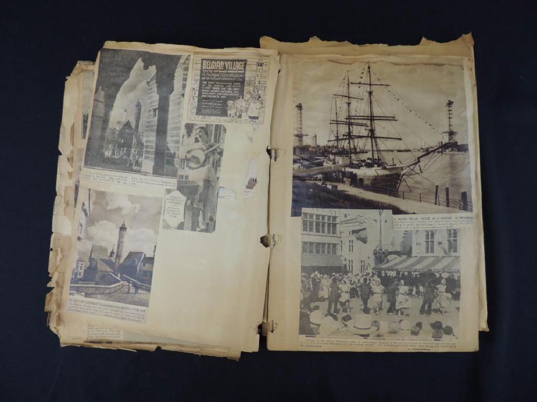 1893 World's Columbian Exposition Chicago Scrapbook - 2