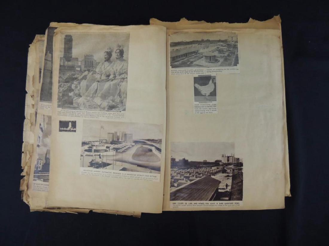 1893 World's Columbian Exposition Chicago Scrapbook - 3
