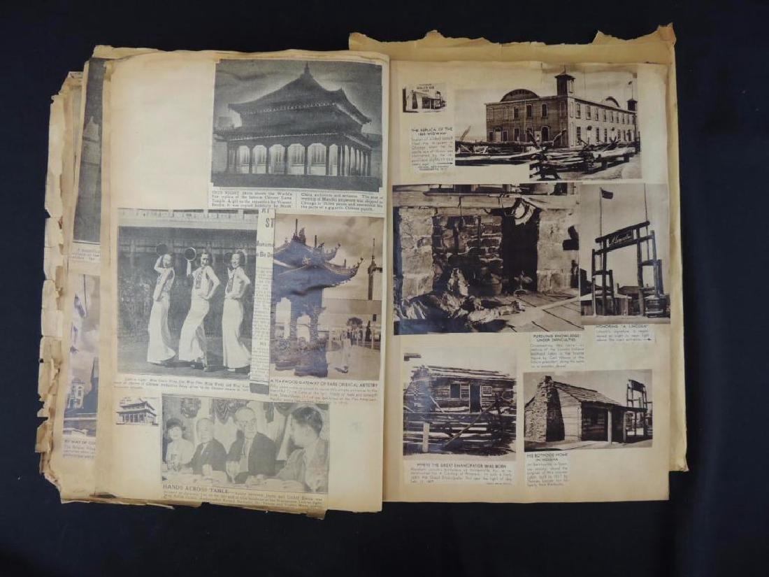 1893 World's Columbian Exposition Chicago Scrapbook - 4