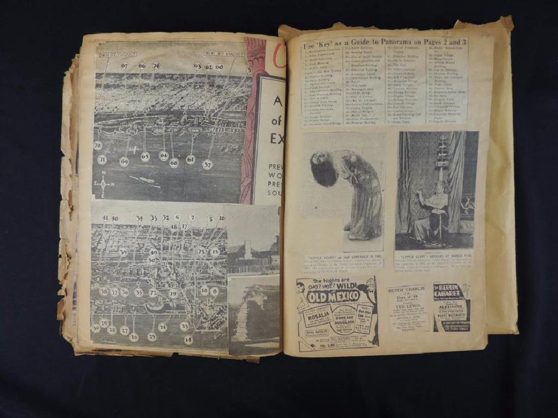 1893 World's Columbian Exposition Chicago Scrapbook - 6