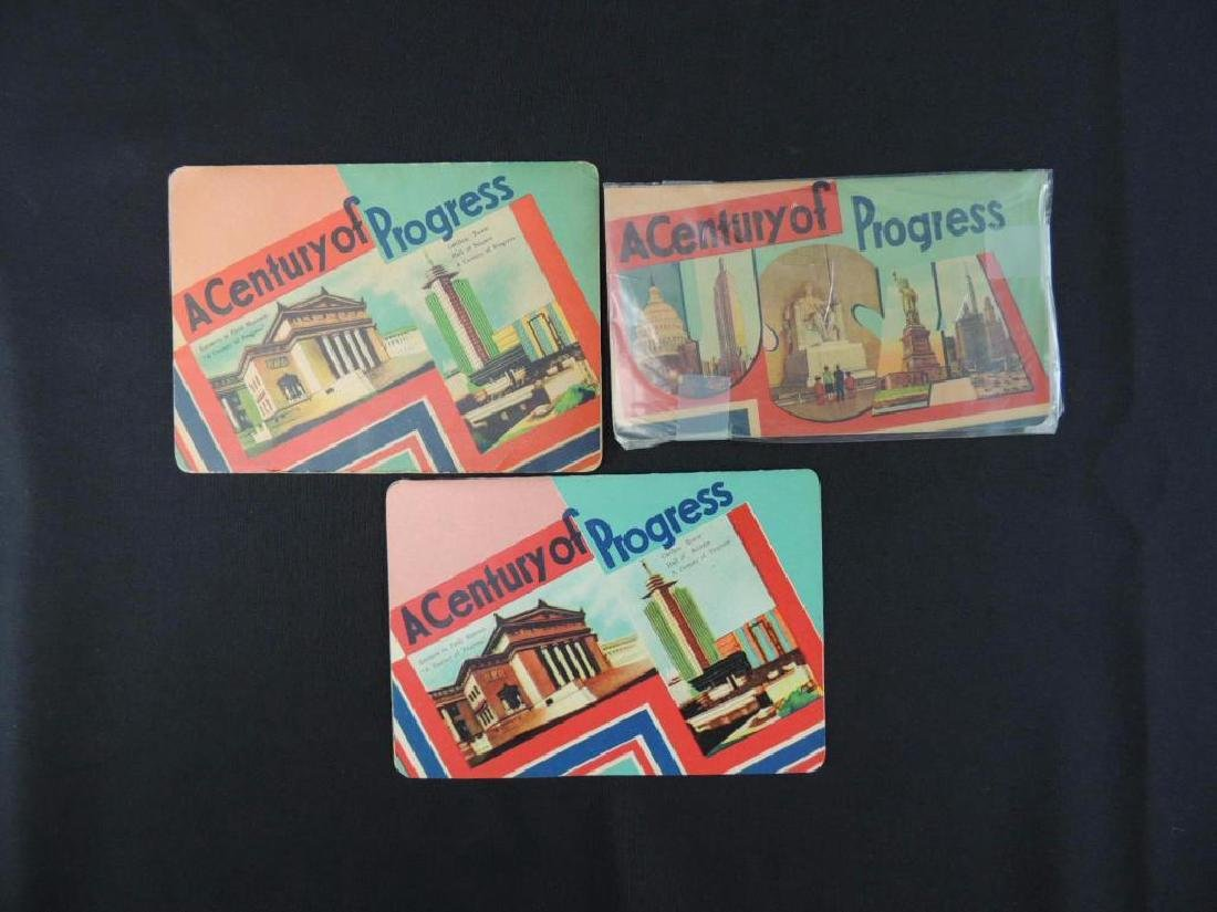 1933-34 Chicago World's Fair Sewing Needle Booklets