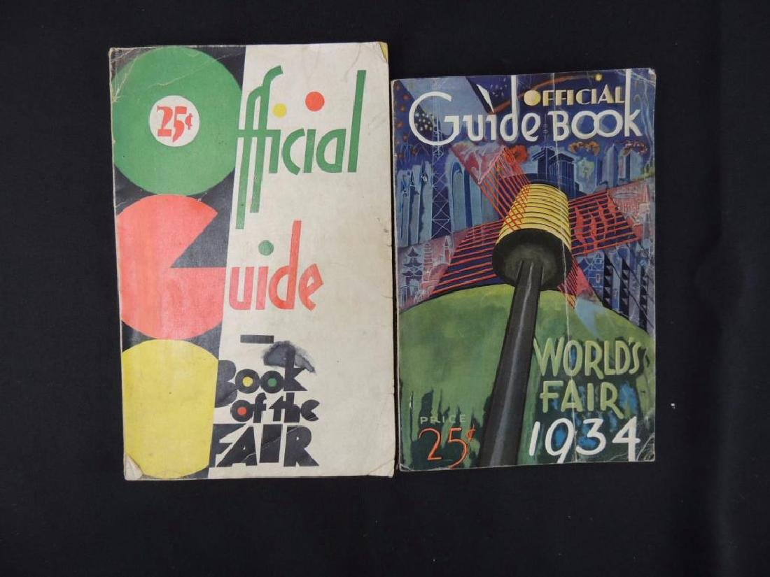 1933-34 Chicago World's Fair Official Guide Books Group