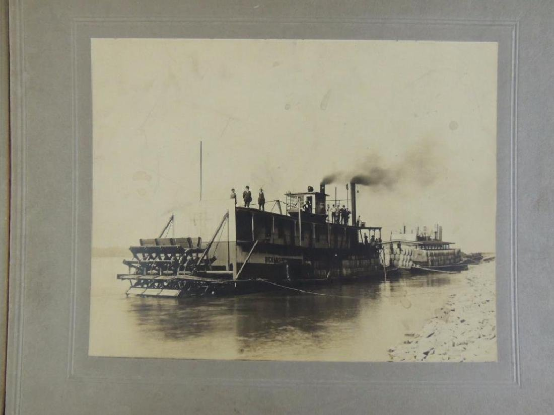 Group of 2 Photographs Featuring Steam Boats - 3