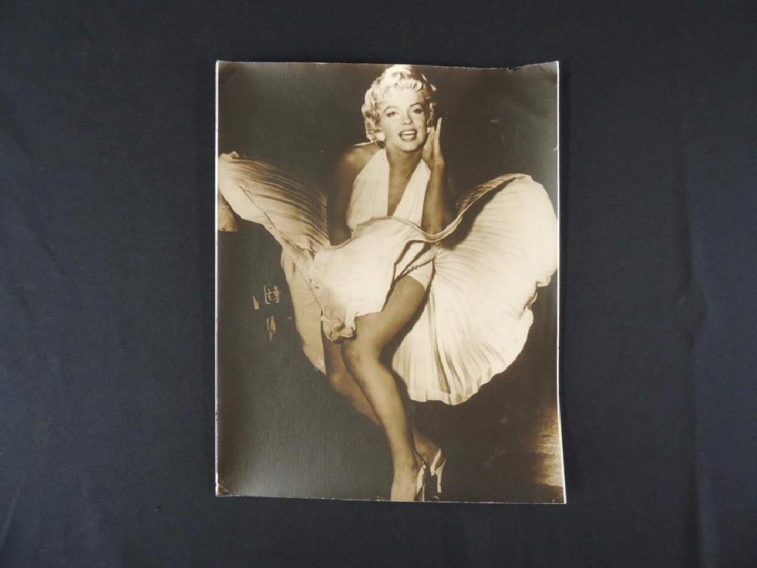 Vintage Print Featuring Marilyn Monroe