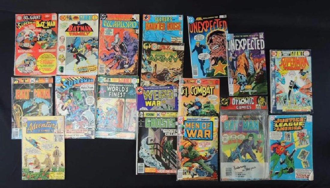 Group of 19 Vintage DC Comics Featuring Batman, The