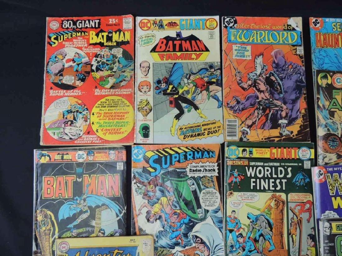 Group of 19 Vintage DC Comics Featuring Batman, The - 9