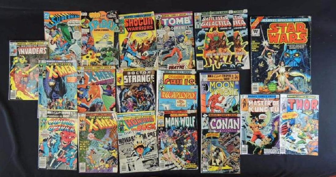 Group of 21 Vintage Marvel Comics Featuring X-Men,