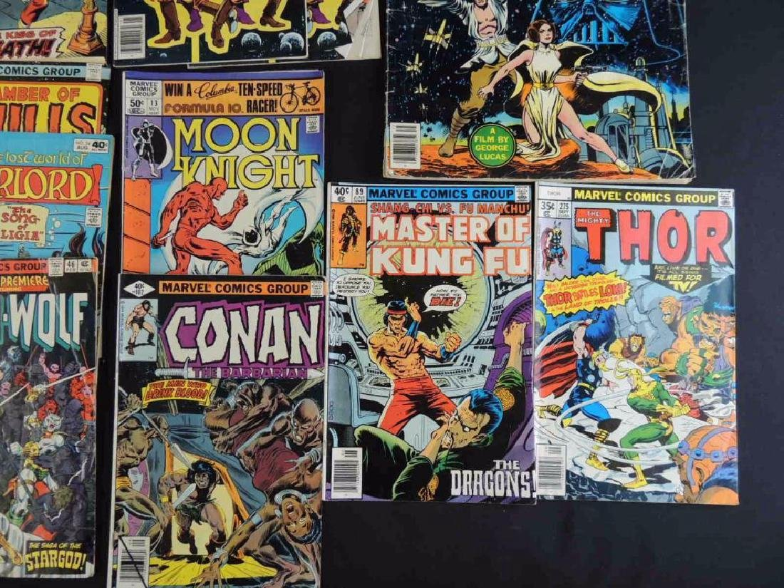 Group of 21 Vintage Marvel Comics Featuring X-Men, - 3
