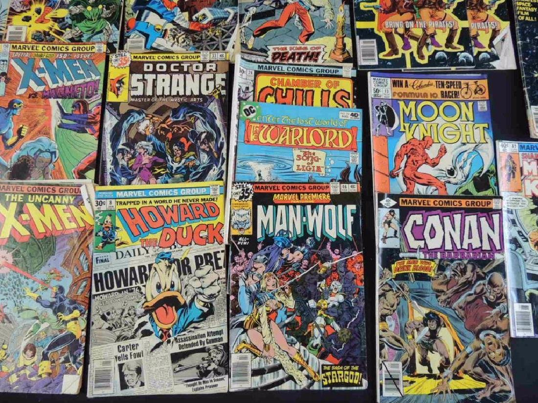 Group of 21 Vintage Marvel Comics Featuring X-Men, - 4