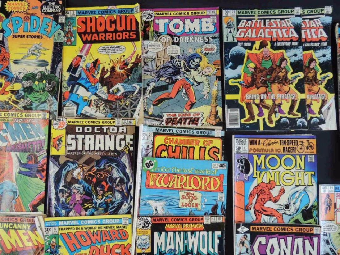 Group of 21 Vintage Marvel Comics Featuring X-Men, - 5