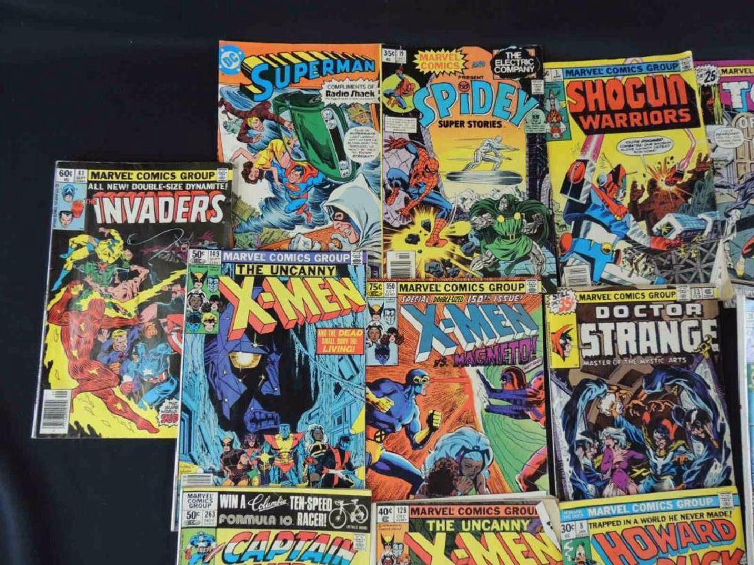 Group of 21 Vintage Marvel Comics Featuring X-Men, - 6