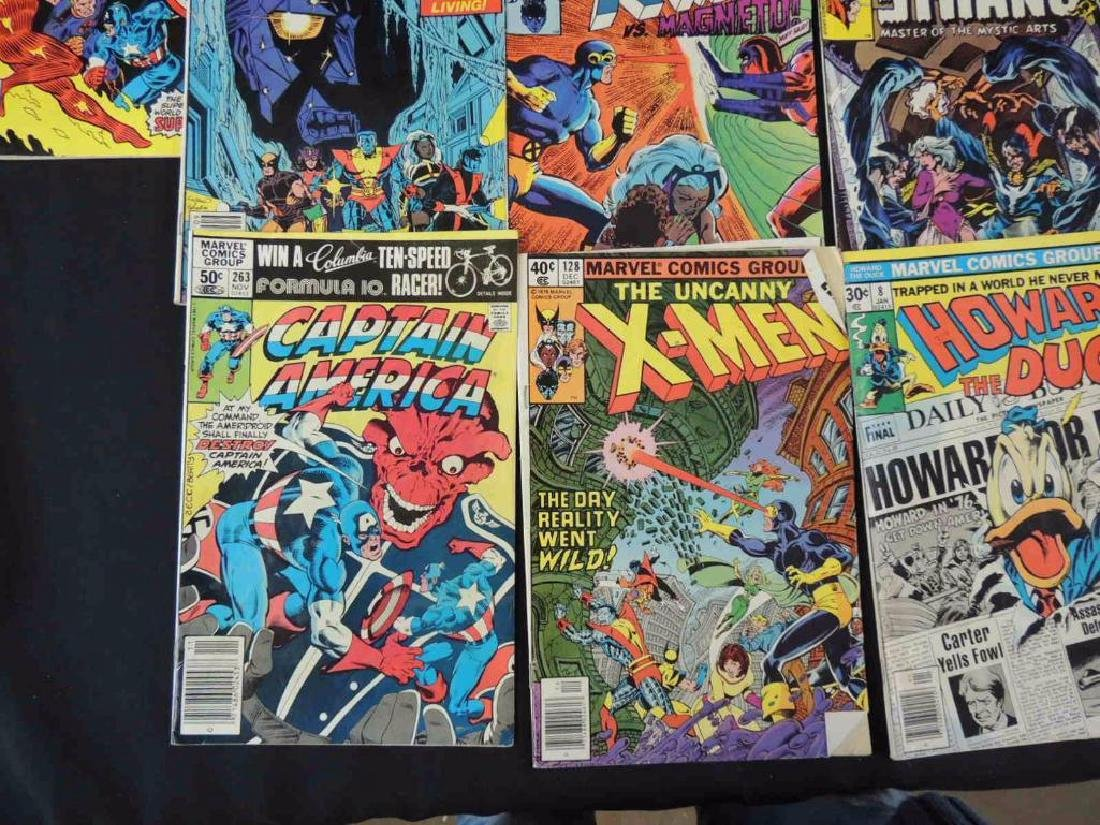 Group of 21 Vintage Marvel Comics Featuring X-Men, - 7