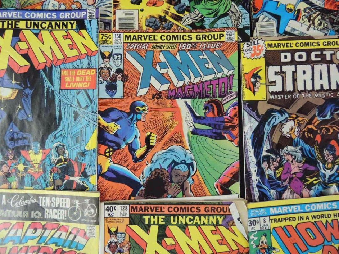 Group of 21 Vintage Marvel Comics Featuring X-Men, - 8