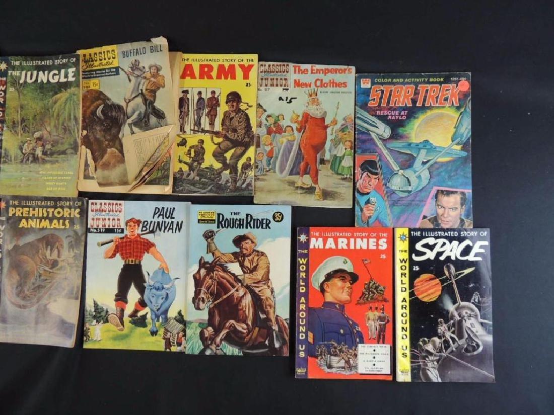 Group of 15 Vintage Comics Featuring Star Trek, - 2