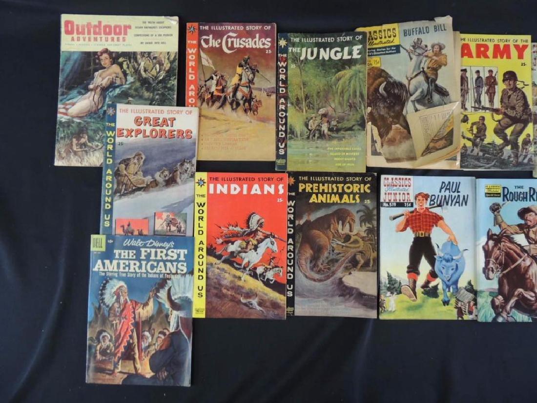 Group of 15 Vintage Comics Featuring Star Trek, - 3