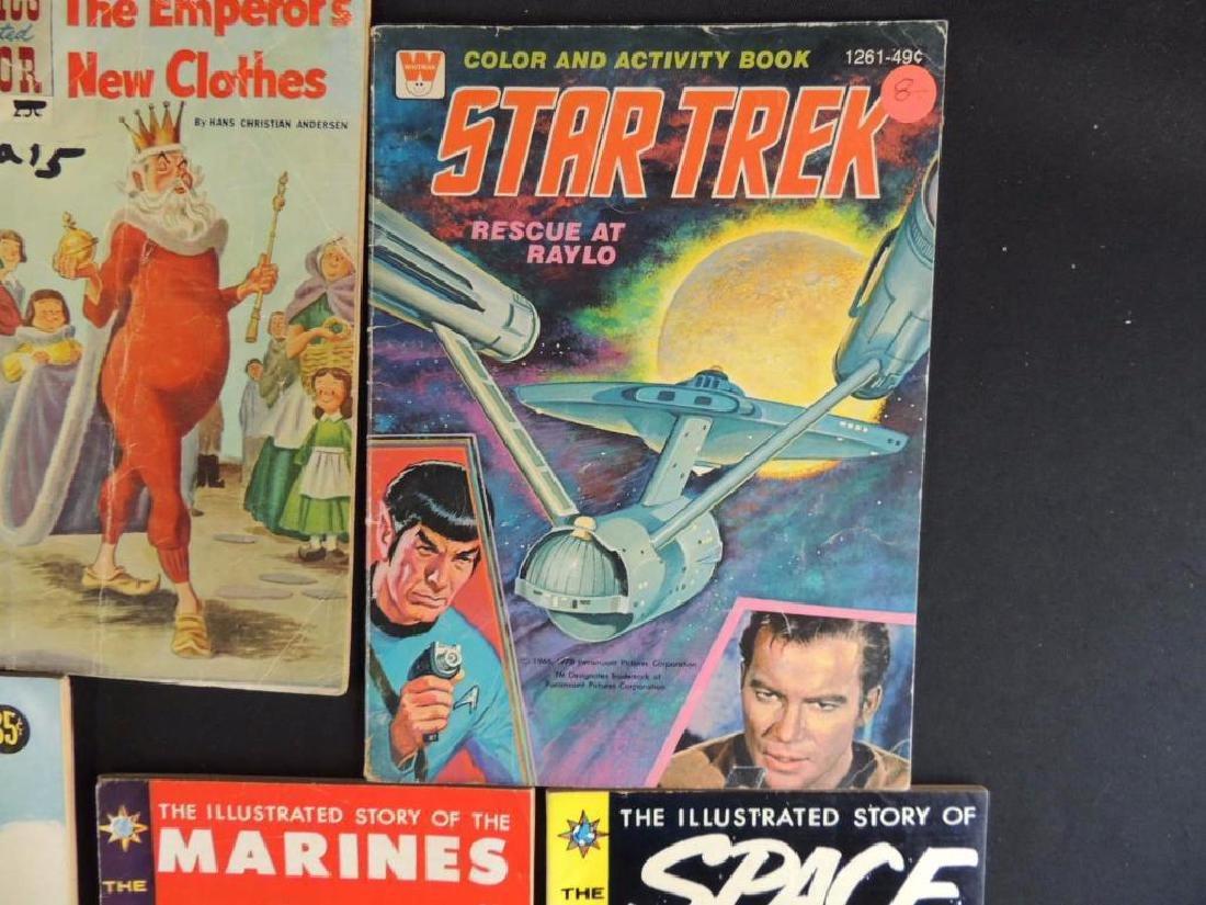 Group of 15 Vintage Comics Featuring Star Trek, - 4