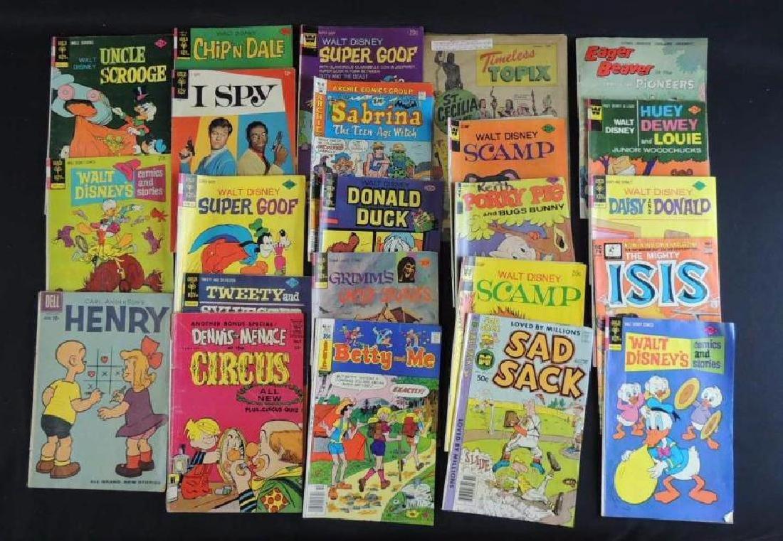 Group of 23 Vintage Golden Key Comics