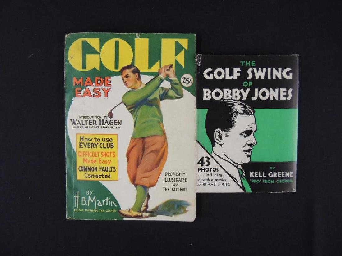Group of 2 Vintage Golf Books