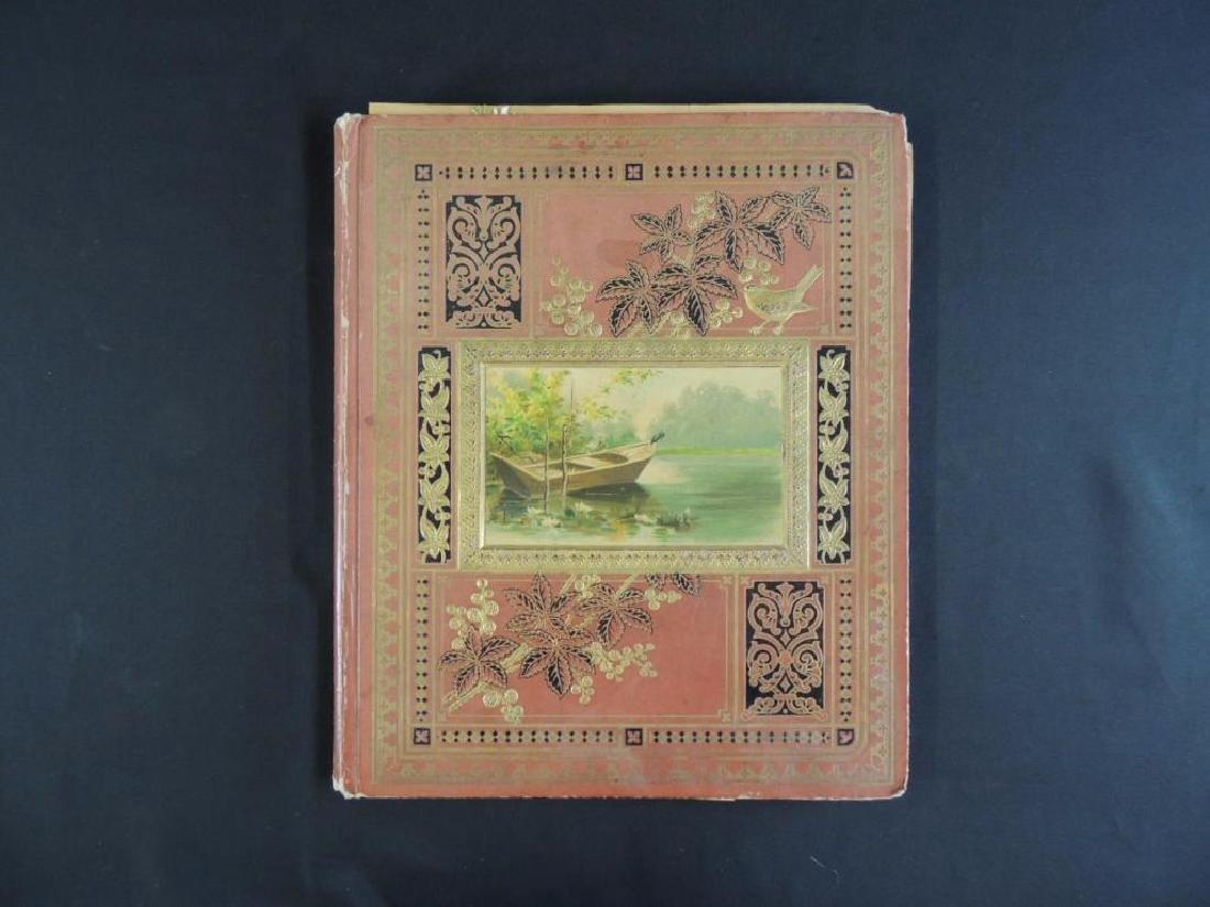 Victorian Scrap Book Album