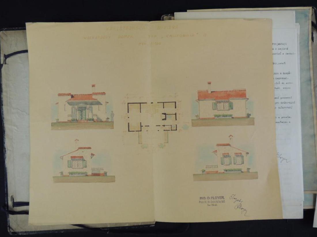 Italian House Blueprints Portfolio� - 2