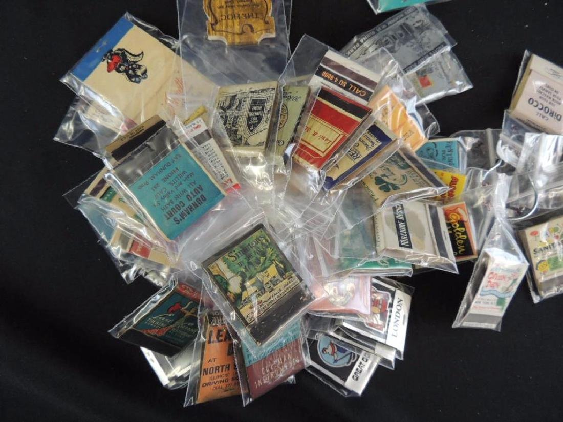 Group of Vintage Match Books - 4