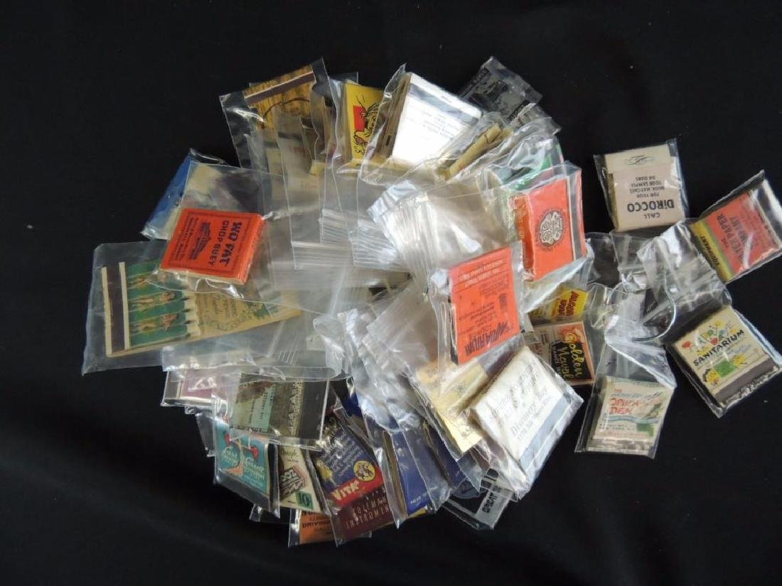 Group of Vintage Match Books - 6