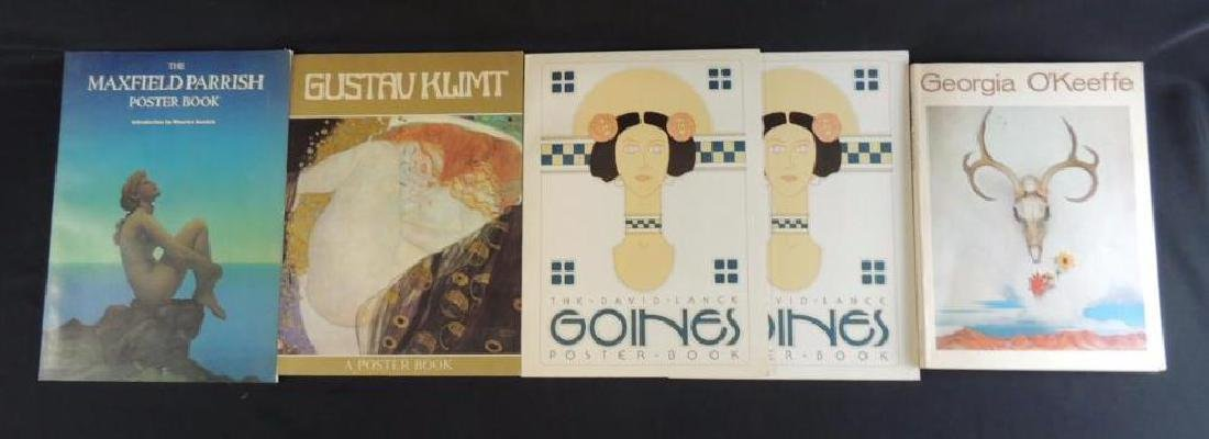 Group of 5 Art Books