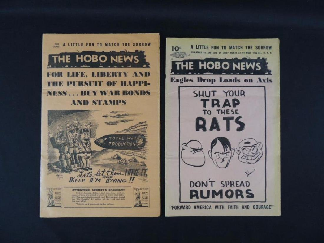 Group of 2 Vintage Hobo News Magazines - 2