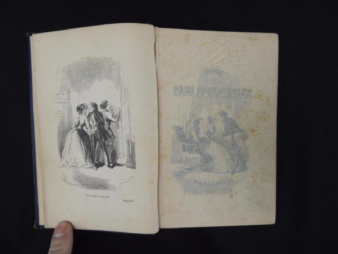 The Book of Parlor Games 1856 - 2