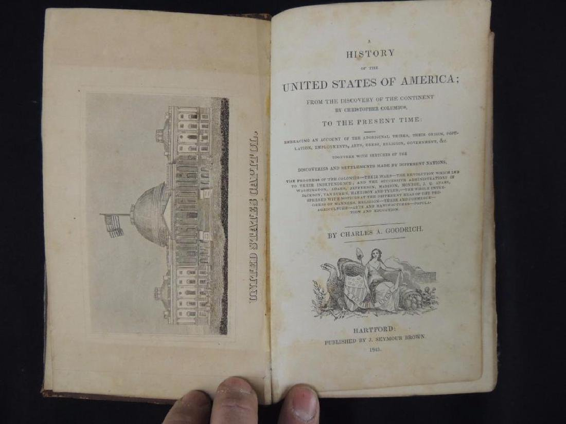 1845's History of the United States of America by - 3