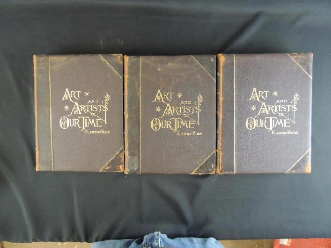 1888's Art and Artist of Our Time by Clarence Cook Vol. - 2