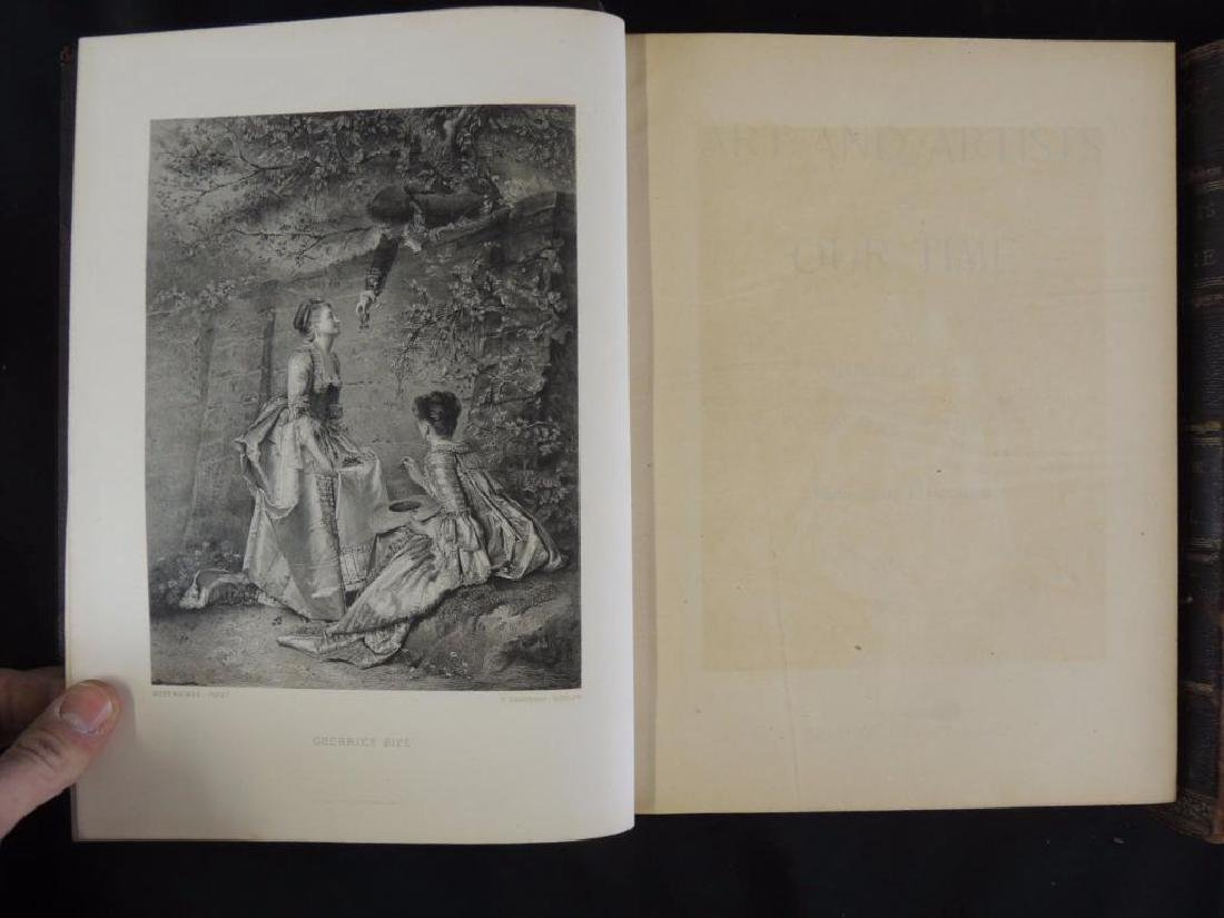 1888's Art and Artist of Our Time by Clarence Cook Vol. - 3