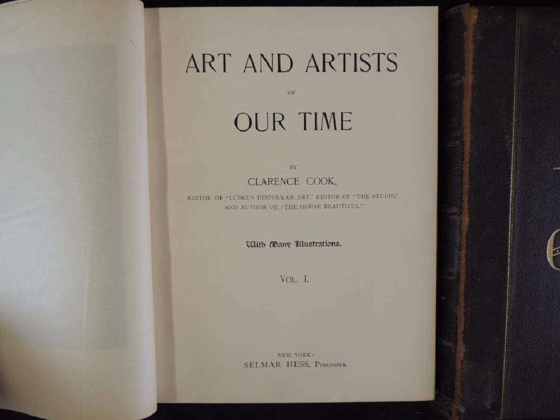 1888's Art and Artist of Our Time by Clarence Cook Vol. - 4