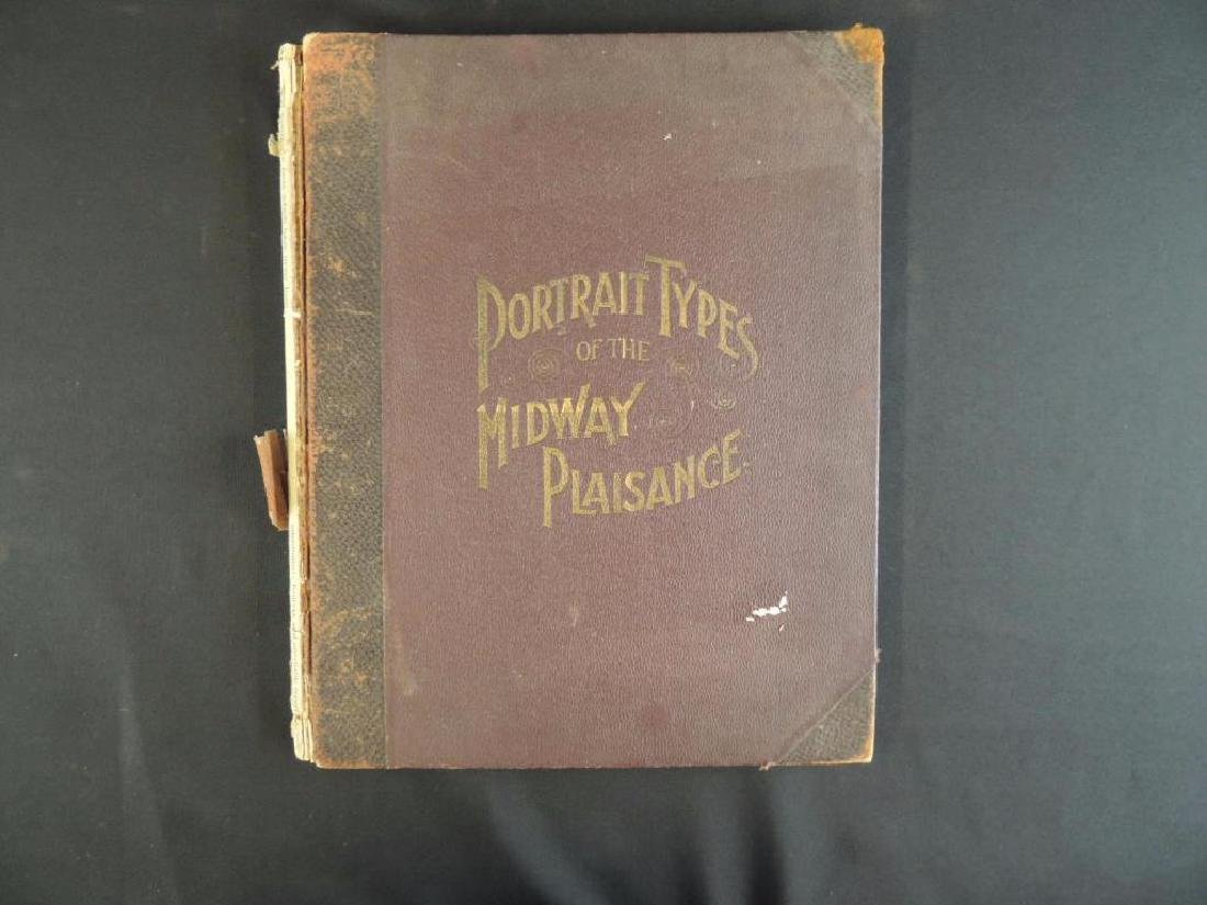 1894's Portrait Types of the Midway Plaisance by F.W.