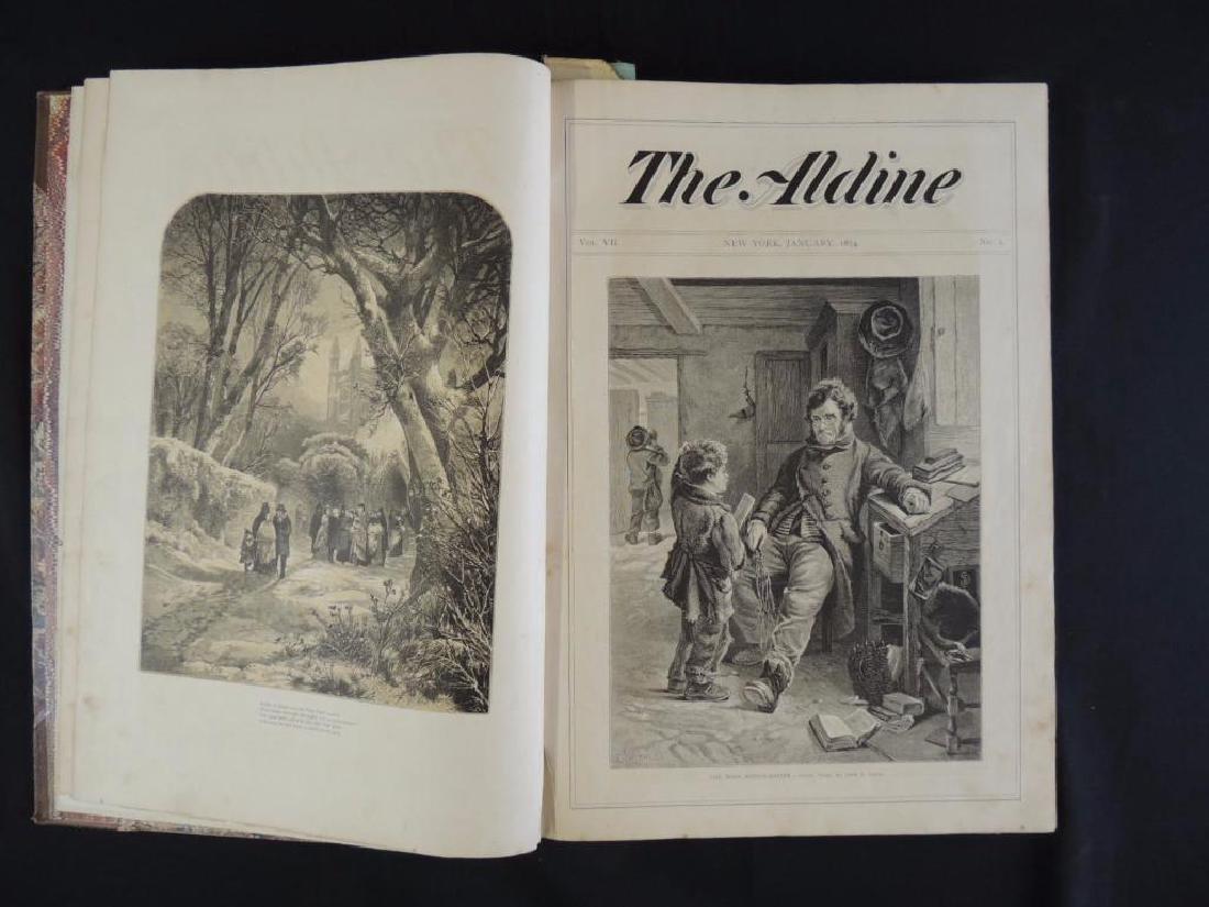1874 The Aldine Bound Book No. 1-12 - 3