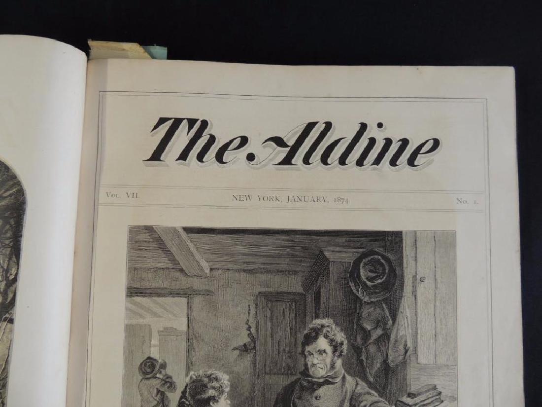 1874 The Aldine Bound Book No. 1-12 - 4